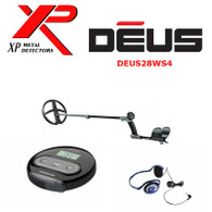 "XP DEUS With WS4 Display + 11"" X35 Search Coil + FX-02 Wired Backphone Heaphones"