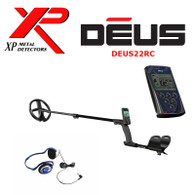 "XP DEUS With FX-02 Wired Backphone Heaphones + Remote + 9"" X35 Coil"