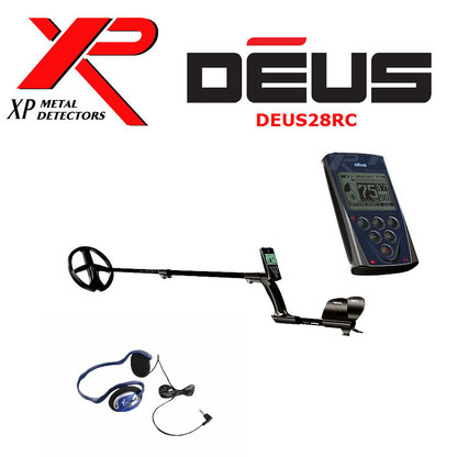 """XP DEUS With FX-02 Wired Backphone Heaphones + Remote + 11"""" Coil"""