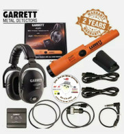 Garrett Pro Pointer MS-3 Wireless Headphone Kit with AT Z-Lynk Pinpointer
