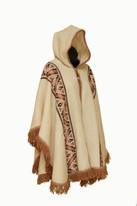 Poncho Women White