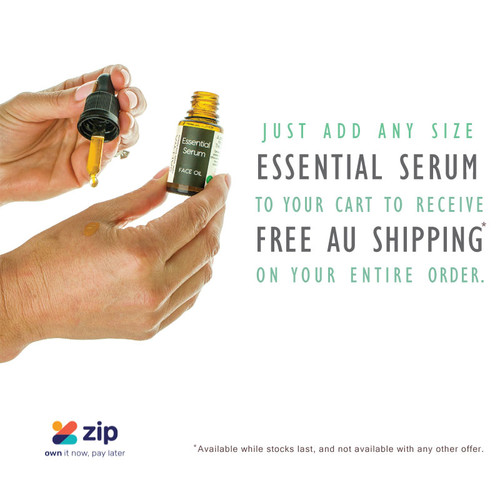 Sattwa Skincare - Just pop Essential Serum into your cart to receive FREE AU SHIPPING on your entire order