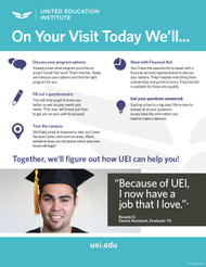UEII-On Your Visit Today-Flyer