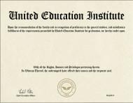 UEII Diploma