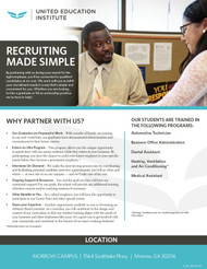 UEII - Recuiting Made Simple - Flyer