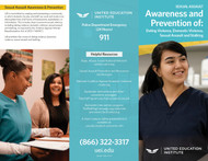 UEI - Morrow - Sexual Violence - Brochure
