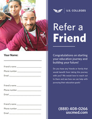 USC - Refer a friend - flyer