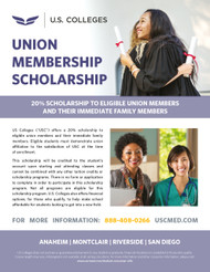 USC-Union Scholarship Flyer