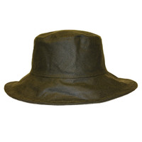 Waxed Oilskin Hat