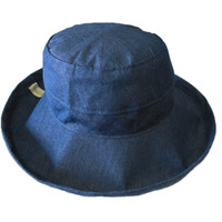 Chambray - 100% Cotton - Short Brim -   The Noosa Hat