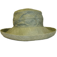 Khaki Linen - Short Brim - The Noosa Hat