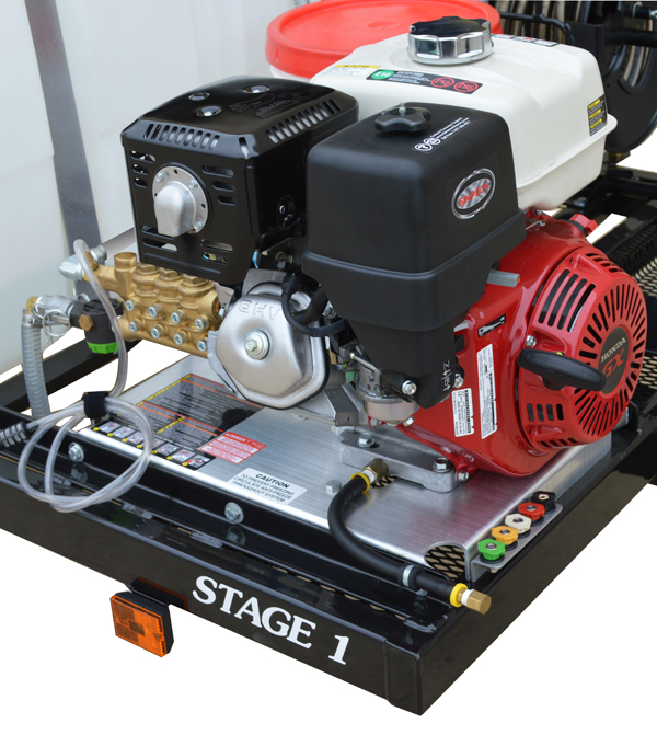 SIMPSON 95000 STAGE 1 Pressure Washer Trailer System