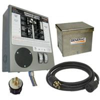 Generac 6408 Manual Transfer Switch 30Amp for (6-10 Circuits)