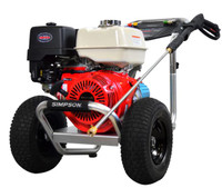 SIMPSON ALH4240 Aluminum 4200 PSI @ 4.0 GPM, Gas Pressure Washer HONDA GX390 ENGINE CAT Pump