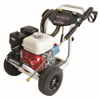 SIMPSON ALH3228-S Aluminum 3400 PSI @ 2.5 GPM, Pressure Washer HONDA GX200 ENGINE CAT Pump