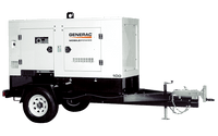 Generac MDG100DF4 STD Mobile Towable Generator With Trailer (MMG100D)