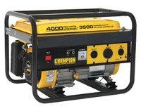 CHAMPION 46533 3500/4000 Watts - Portable Generator CARB Compliant