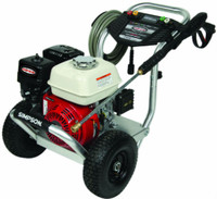 SIMPSON ALH3425-S Aluminum 3400 PSI @ 2.5 GPM, Gas Pressure Washer HONDA GX200 ENGINE