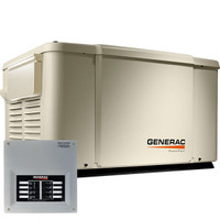 Generac PowerPact 7kW Home Standby Generator 50-Amp 8-Circuit ATS 6519