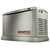 Generac Guardian 15kW EcoGen, Synergy Generator 7034 1ph Alum Enclosure