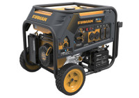 Firman H05751 Portable Gas  5700/7100 Watt Hybird Dual Fuel Generator w/Electric Start