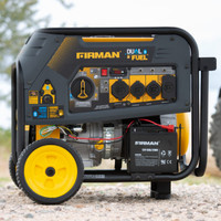 Firman H08051 Portable Gas  8000/10,000 Watt Hybrid Dual Fuel Generator w/Electric Start
