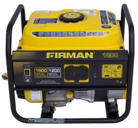Firman P01201 Portable Gas  1500/1200 Watt Recoil Start