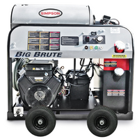 Simpson 65105 BIG BRUTE 4000PSI 4.0 GPM HOT WATER  VANGUARD - TRIPLEX / CAT PUMP
