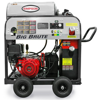 Simpson 65106 BIG BRUTE 4000PSI 4.0 GPM HOT WATER  HONDA - TRIPLEX / CAT PUMP