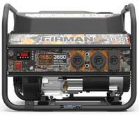 Firman P03609 CAMO Portable Gas  4550/3650 Watt Recoil Start