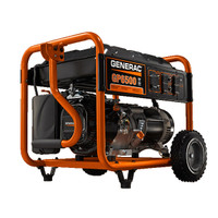 Generac GP6500E Electric Start 6500Watt Portable Generator 5941 49-State