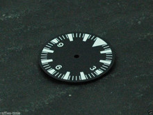 White Lume SM Dial for ETA 2836 / 2824 Movement Triangle@12 for Seamaster 300 Style Watch