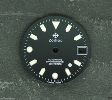 Zodiac Dial white Dot for ETA 2824 2836 movement 26.5mm