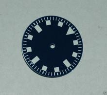 Sterile Blue Snowflake Snow Flake Watch Dial DG 2813 - White Superluminova