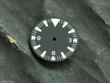 Sterile Seamaster 300 Dial for ETA 2836 Movement Triangle@12 Yellow Lume