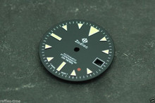 Zodiac Dial Red Dot for ETA 2824 2836 movement Custom Yellow lume
