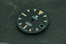 Zodiac Dial Red Dot for ETA 2824 2836 movement Custom Orange lume