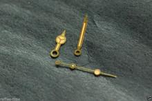 Orange Merc Submariner Watch Gold Tone Hands for ETA 2824 2836 - Metallic