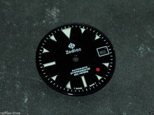 Zodiac Dial Red Dot for ETA 2824 2836 movement Green Lume