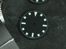 Plain Submariner Snowflake ETA 2824 / 2836 Watch Dial White Superluminova