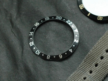 Bezel Insert GMT Black