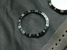 GMT Master Style Black White Cheap Bezel Insert