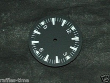 Sterile Seamaster 300 Dial for DG 2813 Number@12 White Superluminova