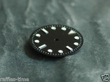 Plain Submariner Sub Watch Dial for DG 2813 Movement w/o date White Lume