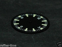 Sterile Seamaster 300 Dial for ETA 2836 / 2824 Number@12 Green Superluminova