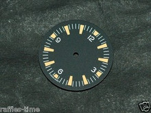 Plain Seamaster 300 Dial for DG 2813 Number@12 Orange Superluminova