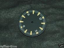 Yellow Lume SM Dial for DG 2813 Miyota 8200 Movement Sterile Seamaster 300 Dial