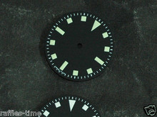 Plain Submariner Snowflake ETA 2824 / 2836 Watch Dial Green Superluminova
