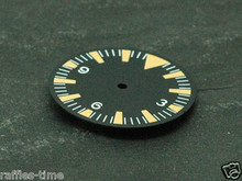 Orange Lume SM Tri Dial for DG 2813 Miyota 8200 Movement Triangle@12 for Seamaster 300 Style Watch