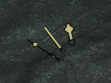 Yellow Lume Metallic Snowflake Hands for ETA 2836 2824 Milsub Snow Flake Watch Yellow